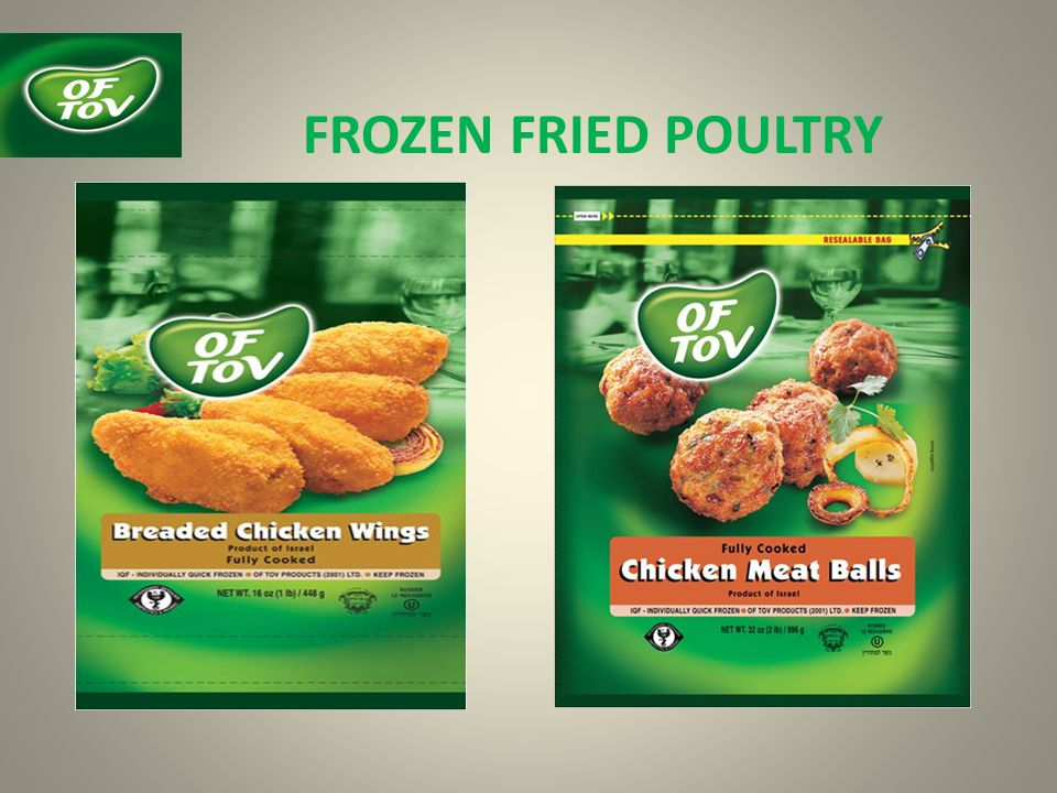 FROZEN FRIED POULTRY