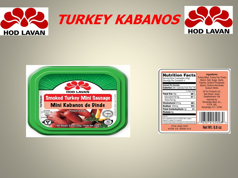 TURKEY KABANOS
