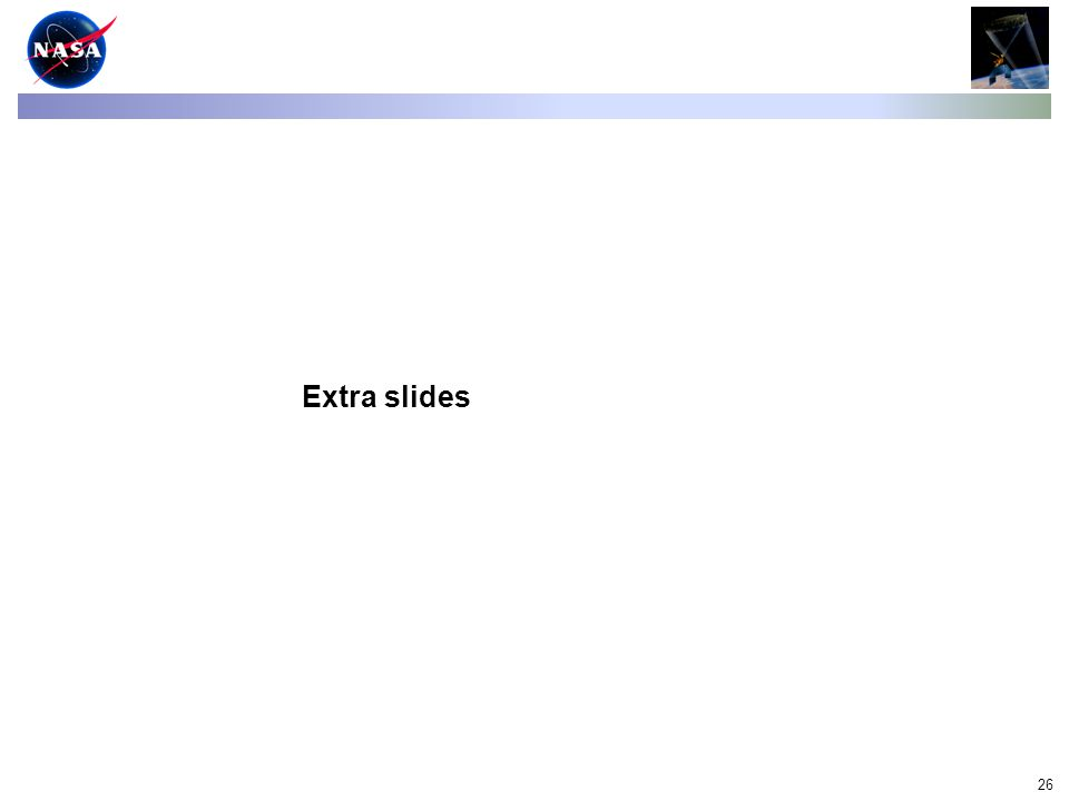 26 Extra slides
