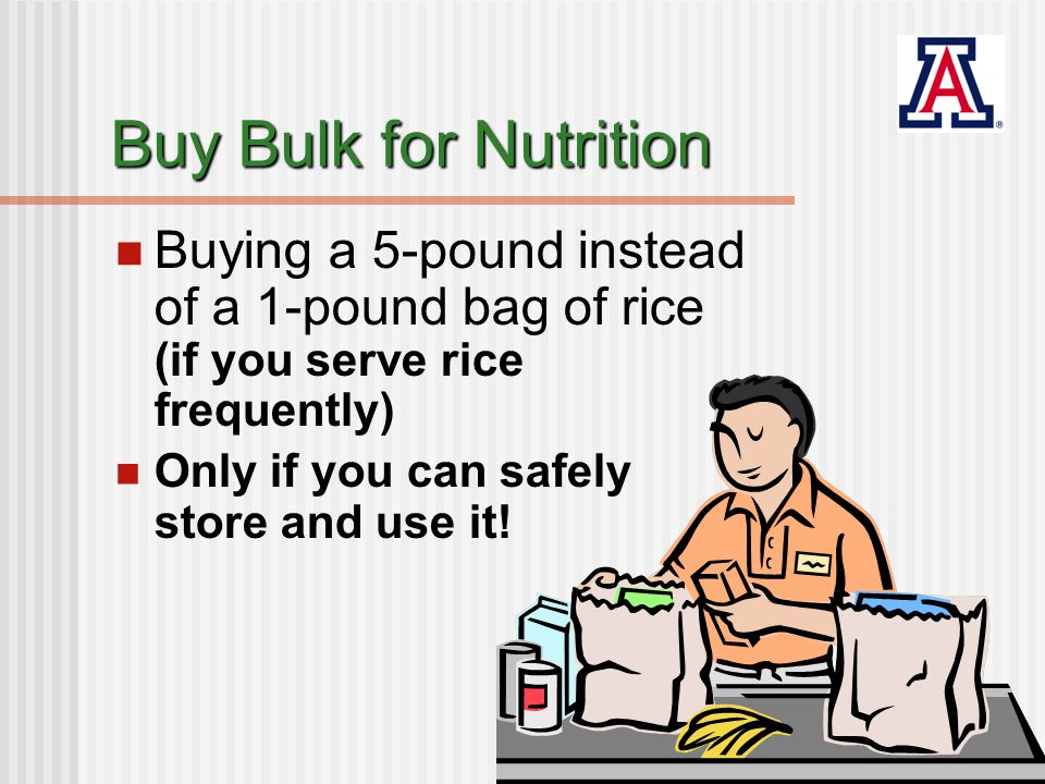 Bulk & Convenience Savings RicePricePrice per serving Sodium mg Store brand white dry 6.99 - 5 lbs14 cents0 - 50 mg Brown dry rice 2.69 - 2 lbs13.5 cents0 - 50 mg Brown dry rice 1.49 - 9 servings 16.5 cents0 - 50 mg Brown Minute Rice 2.99 - 9 servings 33.2 cents10 Fry's Foods, January 2009
