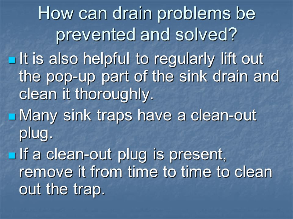 How can water heaters and bathroom stools be maintained.