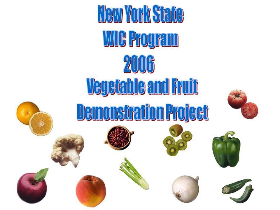 Did you use the vegetable & fruit checks?