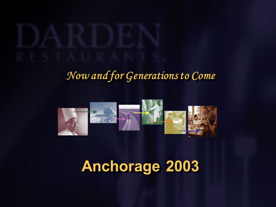 Now and for Generations to Come Anchorage 2003