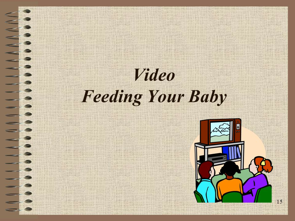 15 Video Feeding Your Baby