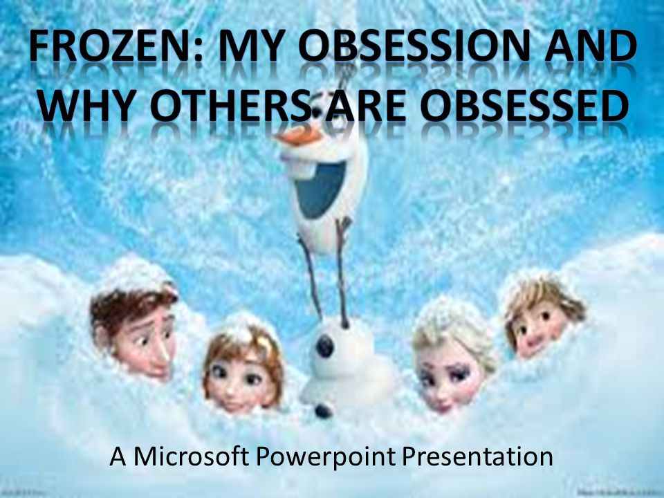 A Microsoft Powerpoint Presentation