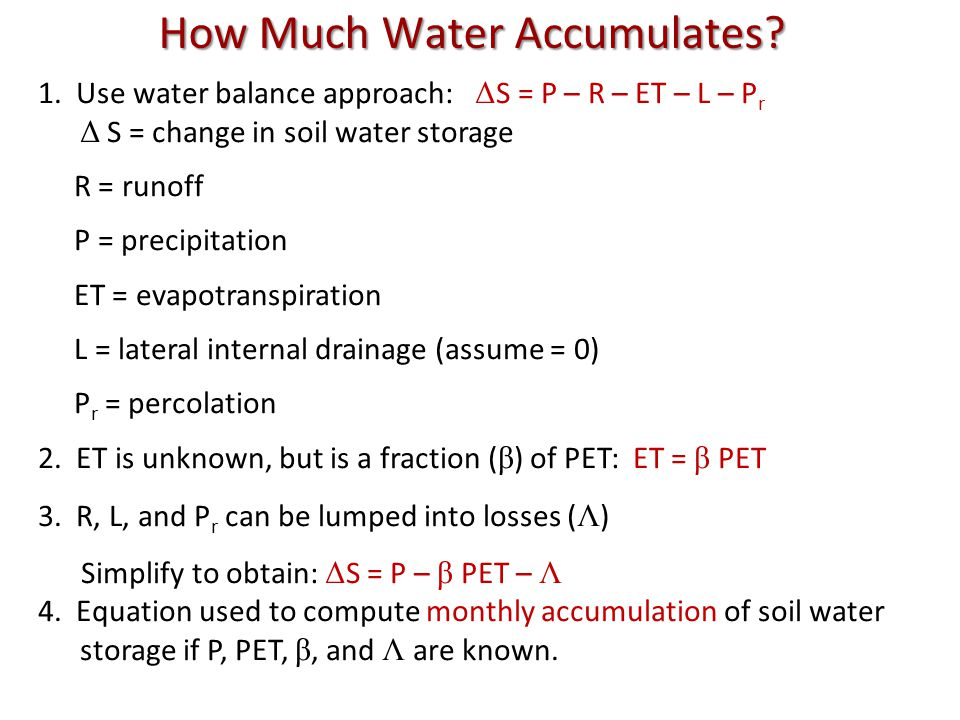 How Much Water Accumulates.1.