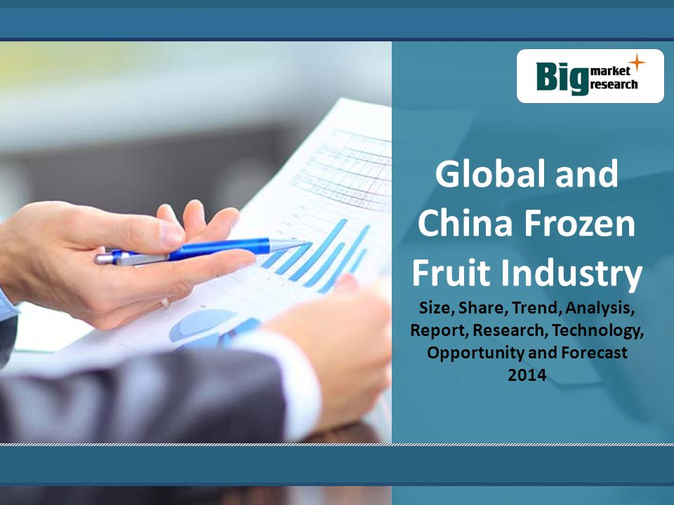 2014 Deep Research Report on Global and China Frozen Fruit Industry was professional and depth research report on Global and China Frozen Fruit industry.