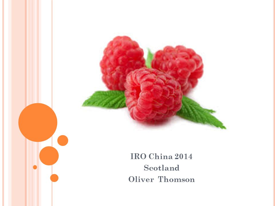 IRO China 2014 Scotland Oliver Thomson