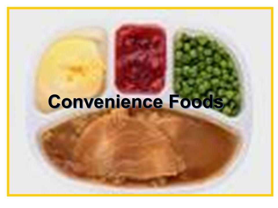 Convenience Foods Convenience Foods Convenience Foods