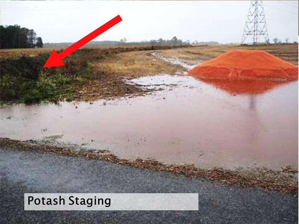 Potash Staging
