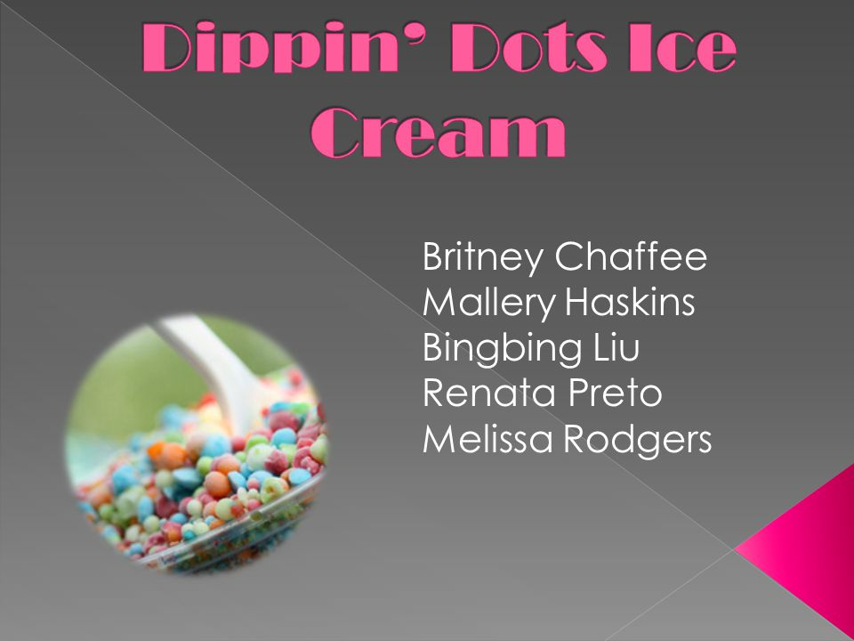 With operating costs up and sales down, what would Dippin' Dots best strategic options for growth be?