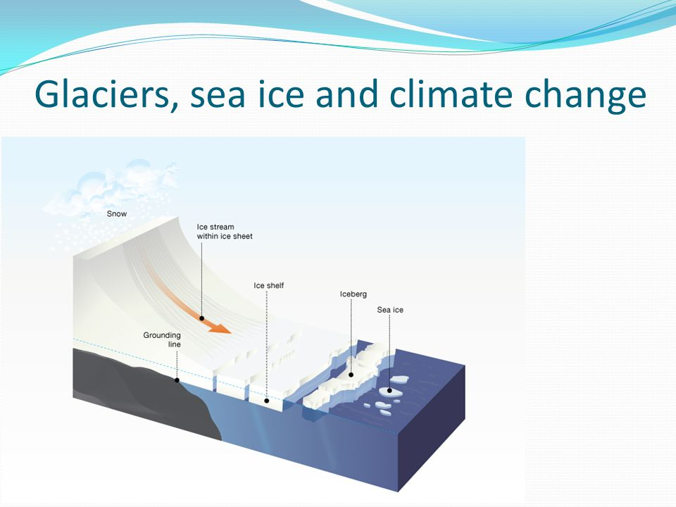 Glaciers, sea ice and climate change