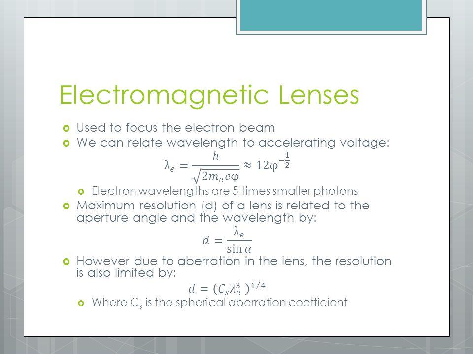 Electromagnetic Lenses