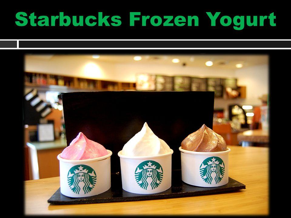 Starbucks Frozen Yogurt