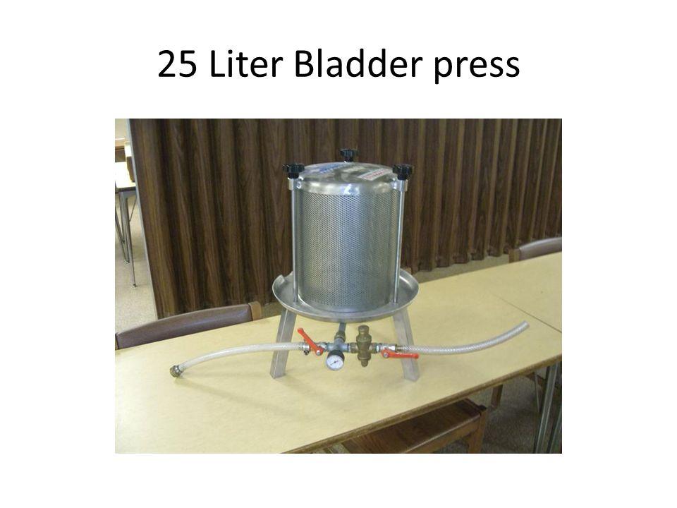 25 Liter Bladder press