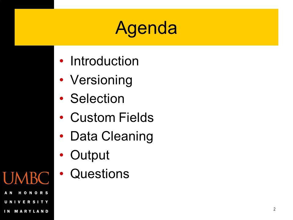 33 Plan Attributes Custom setup table Reporting Organization rollup Degree Sought MHEC Online Plan indicator Second Campus indicator Continuing Ed indicator STEM indicator