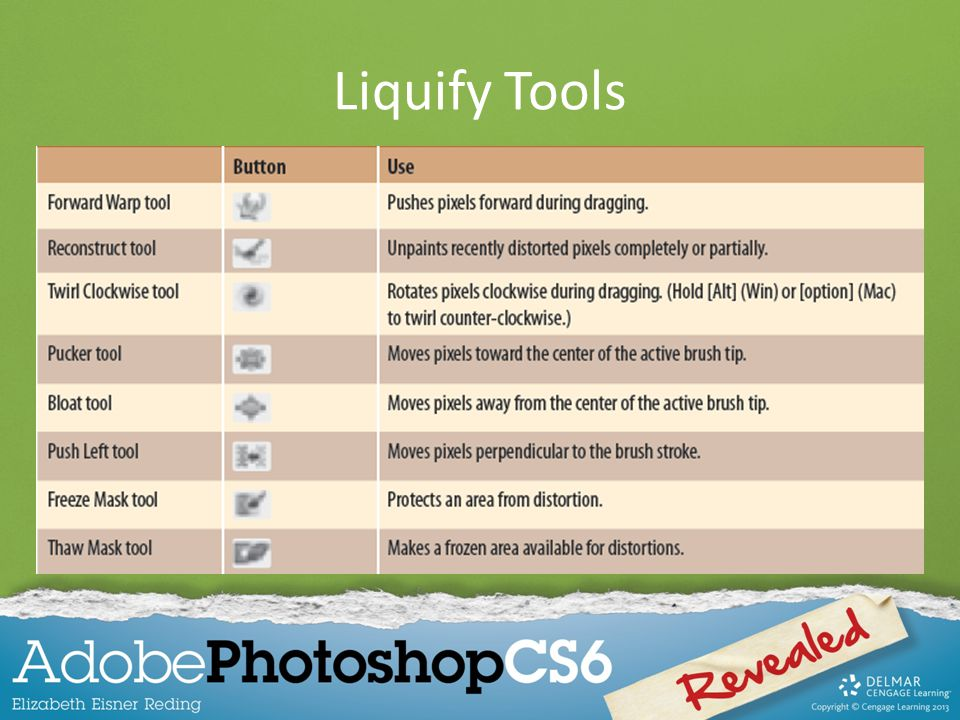 Liquify Tools 10