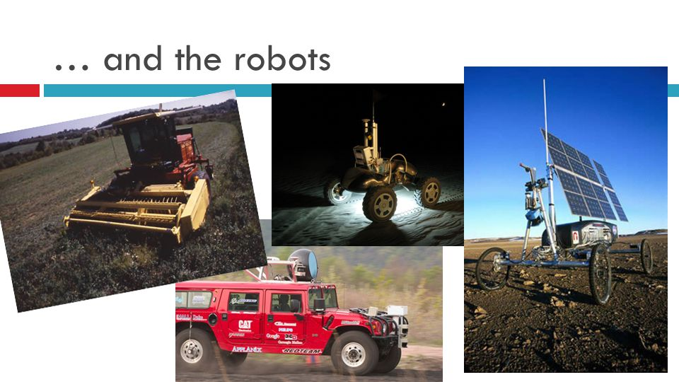 … and the robots