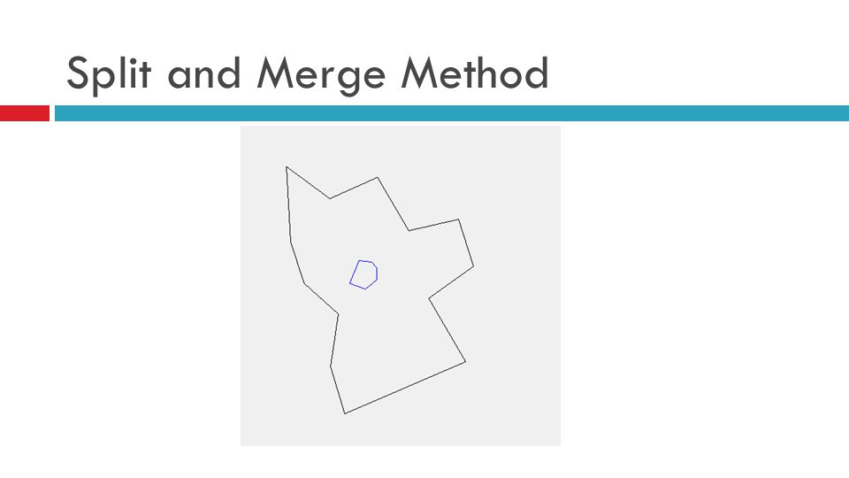 Split and Merge Method