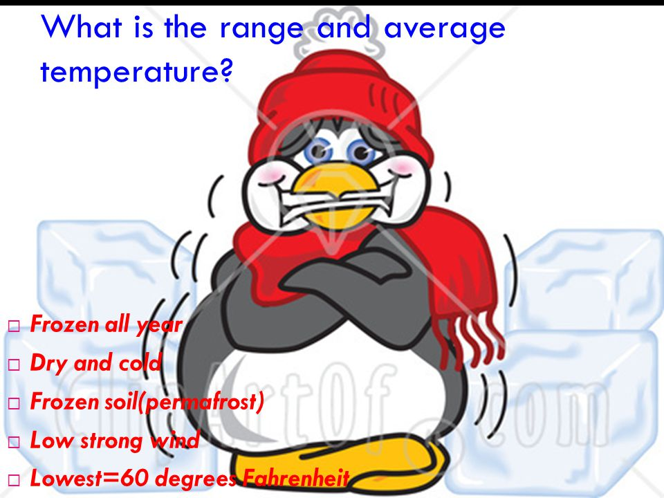 What is the range and average precipitation.
