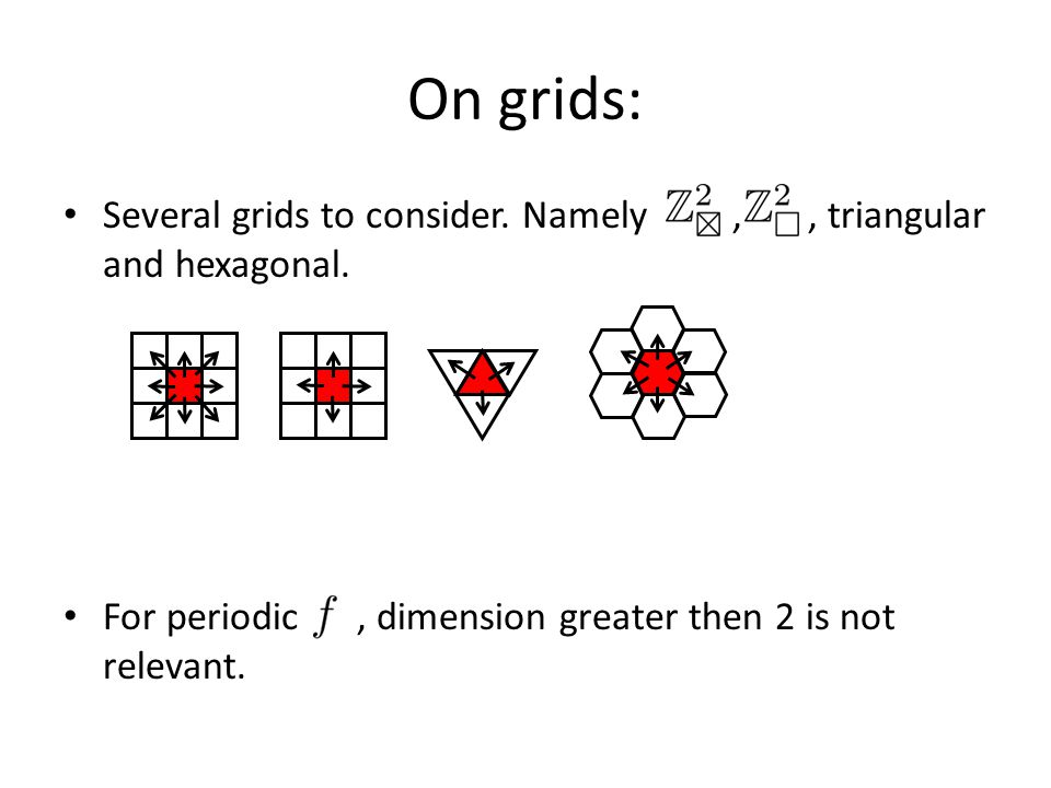 Finite : Suggested by Hartnel ('95) as a model for spreading phenomena.