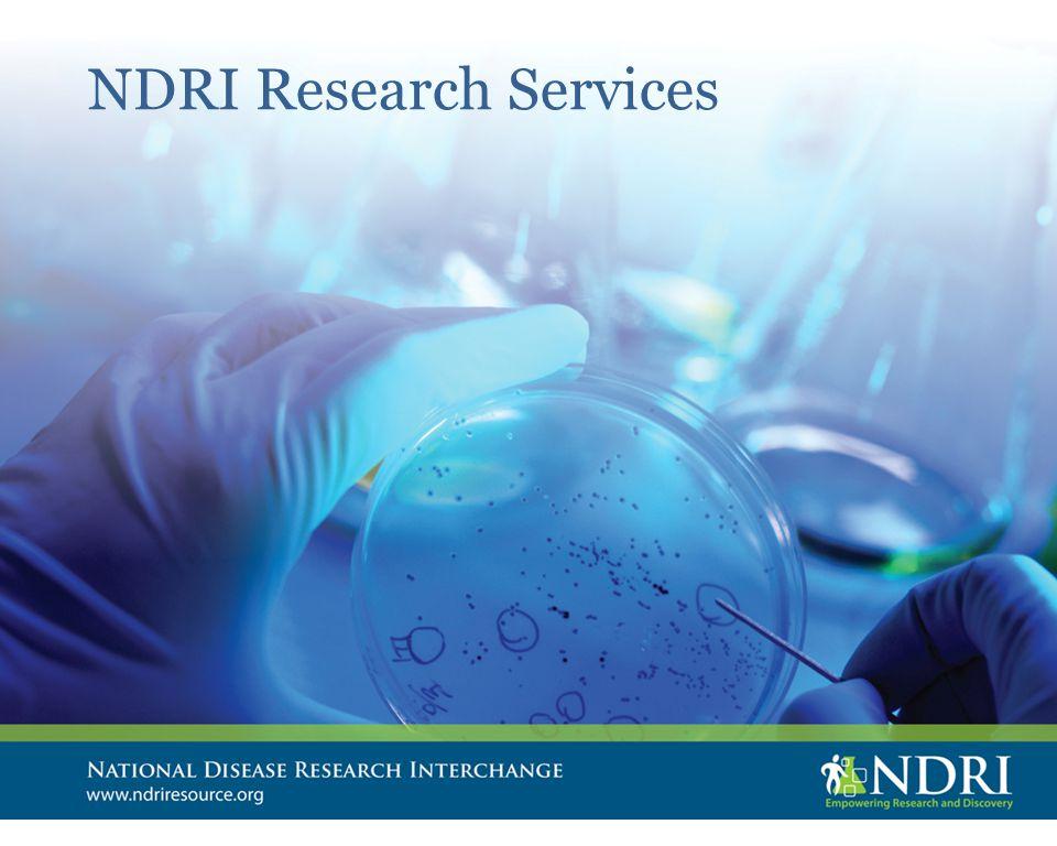 NDRI Research Services