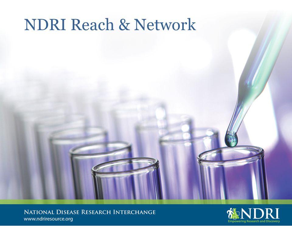 NDRI Reach & Network