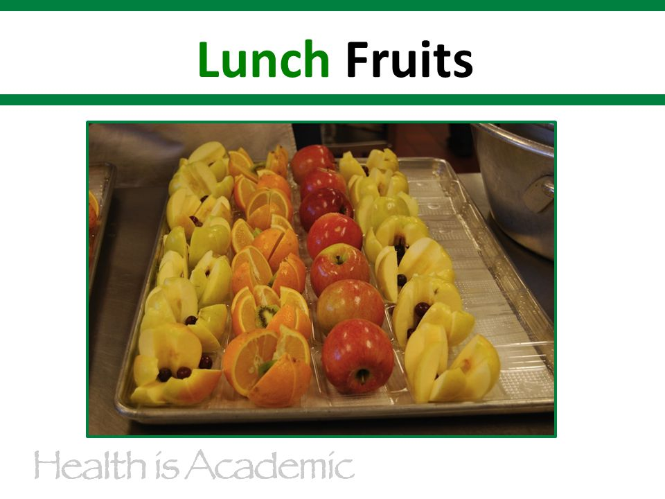 Lunch Fruits