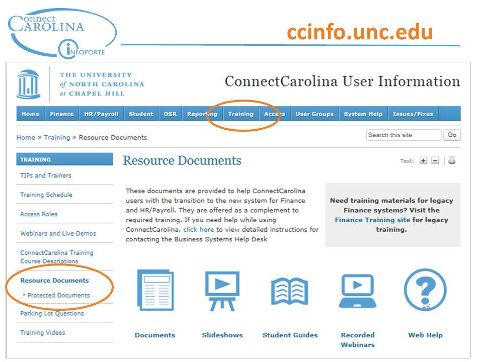 48 ccinfo.unc.edu