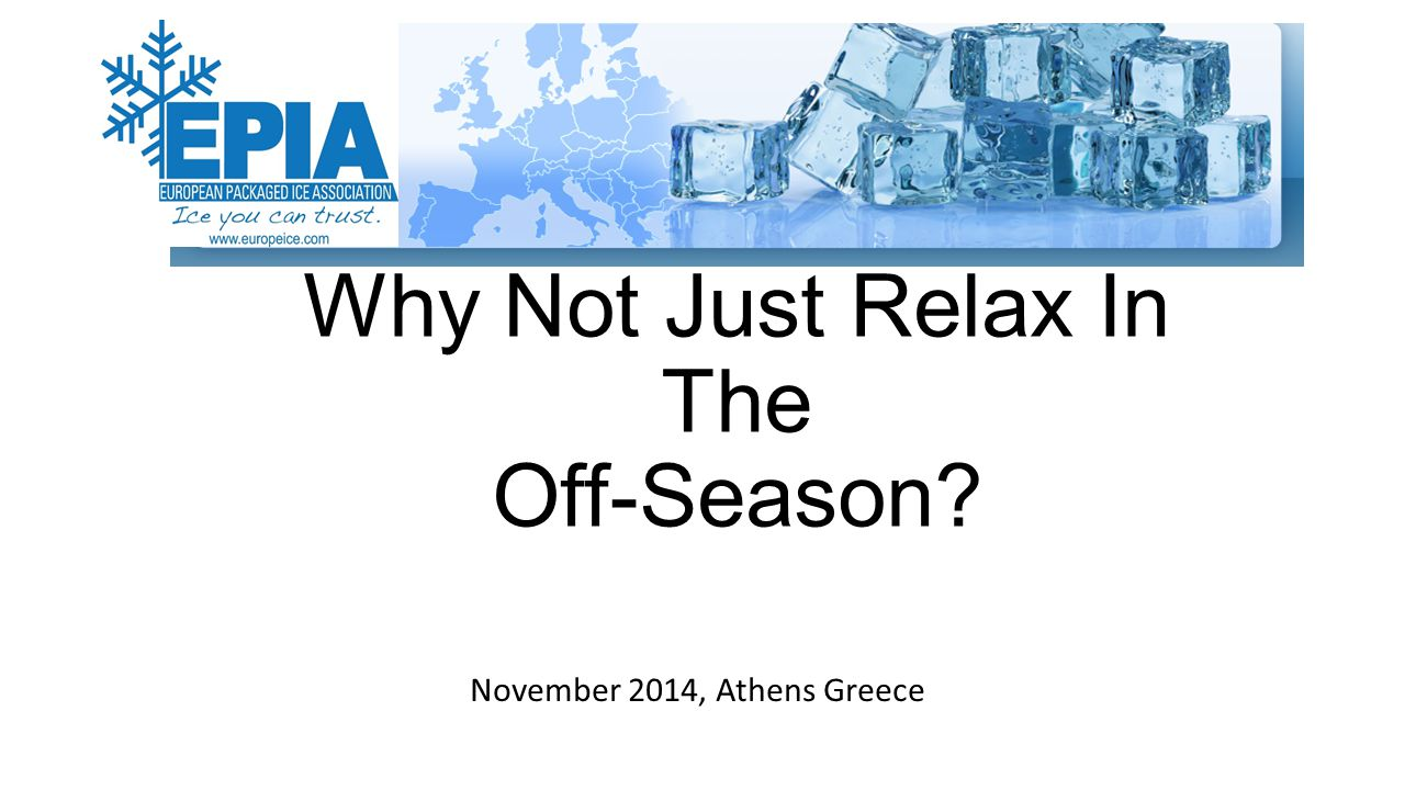 Why Not Just Relax In The Off-Season November 2014, Athens Greece