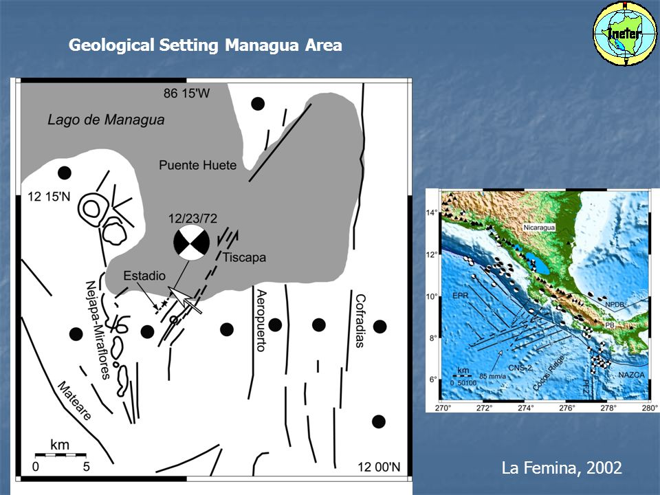 La Femina, 2002 Geological Setting Managua Area