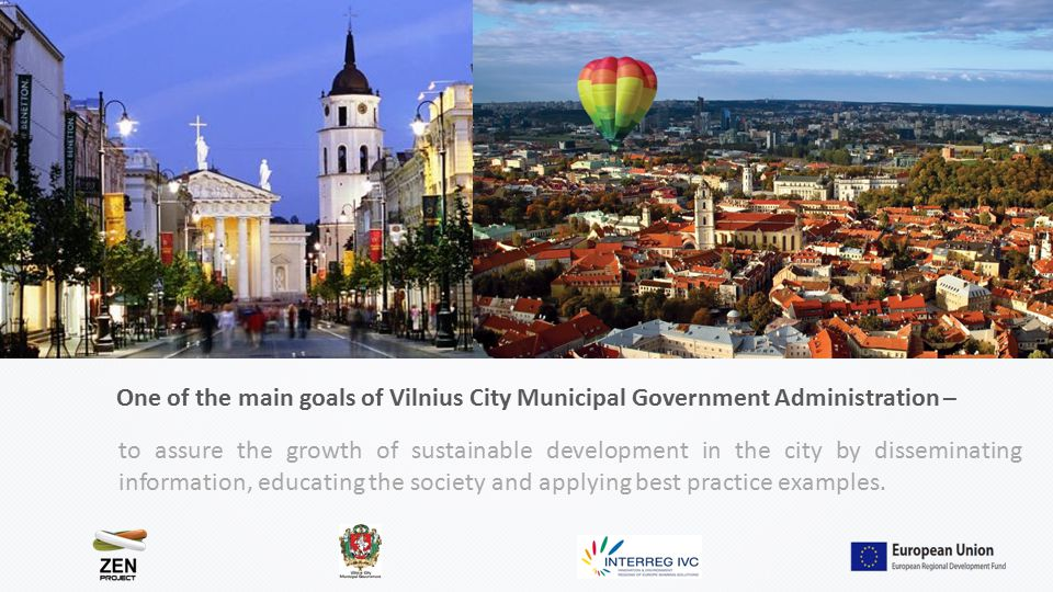 to assure the growth of sustainable development in the city by disseminating information, educating the society and applying best practice examples.