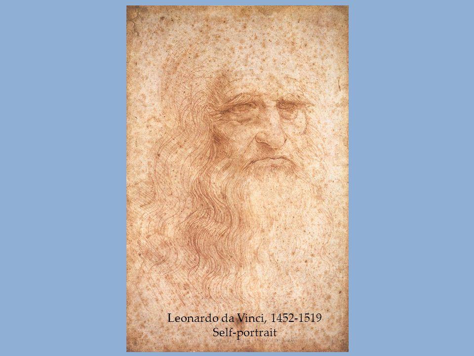 Leonardo da Vinci, 1452-1519 Self-portrait