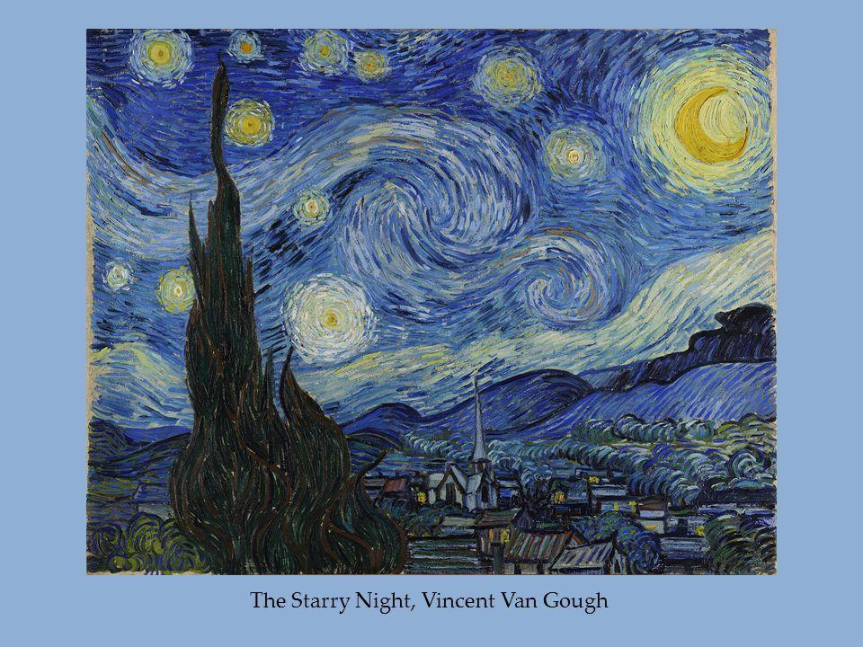 The Starry Night, Vincent Van Gough
