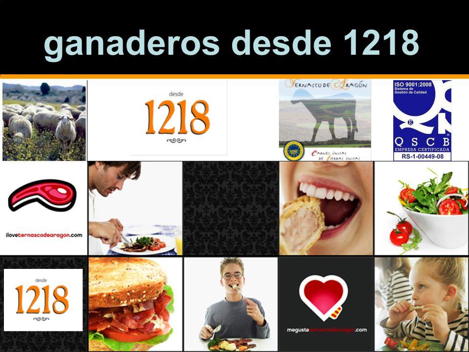 ganaderos desde 1218
