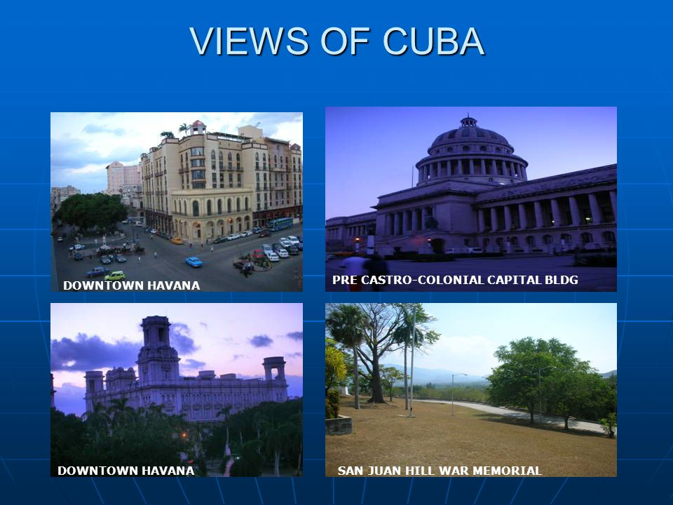 Personal Observations The people of Cuba are a warm hearted people with an intense Spiritual hunger.
