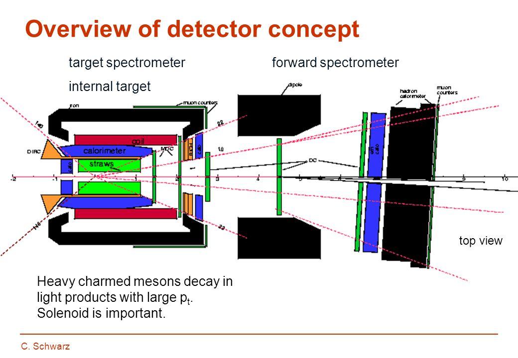 C. Schwarz Overview of detector concept side view