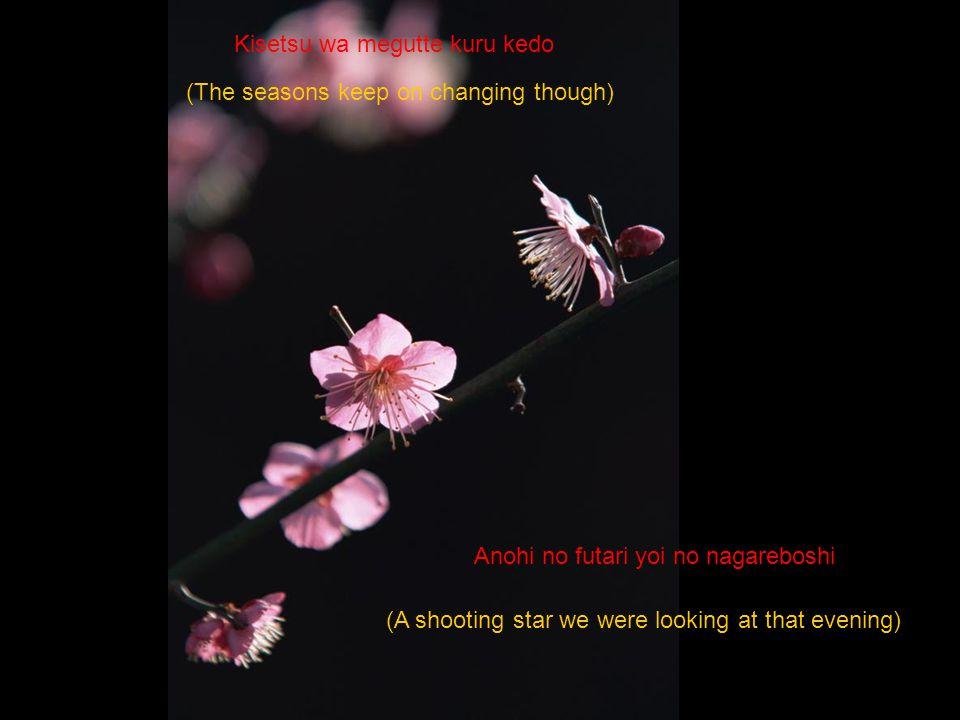 Koibito yo, sayonara (My dear lover good-bye)