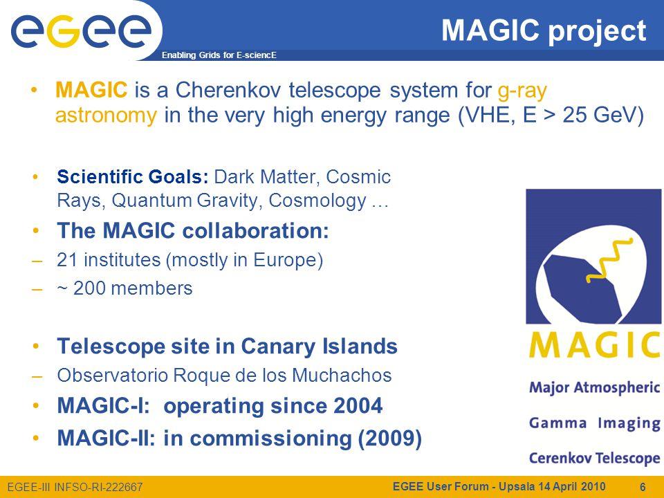 Enabling Grids for E-sciencE EGEE-III INFSO-RI-222667 Interoperability EGEE User Forum - Upsala 14 April 2010 17