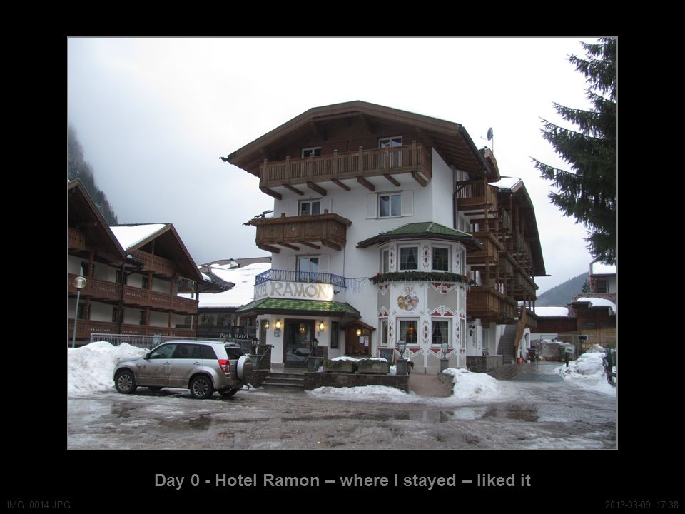 Day 0 - Hotel Ramon – where I stayed – liked it IMG_0014.JPG2013-03-09 17:38