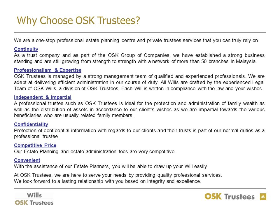 15 Why Choose OSK Trustees.