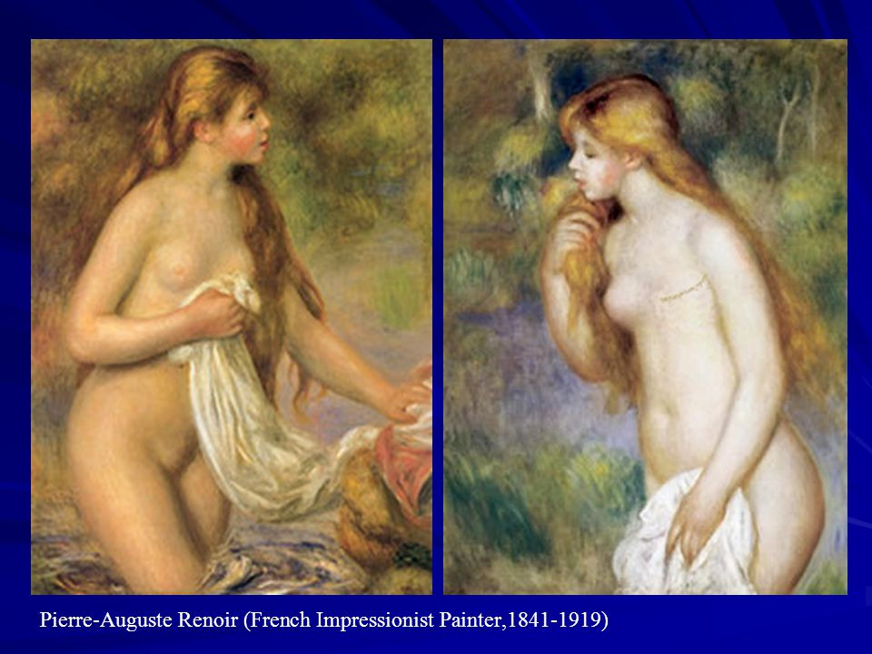 Pierre-Auguste Renoir (French Impressionist Painter,1841-1919)