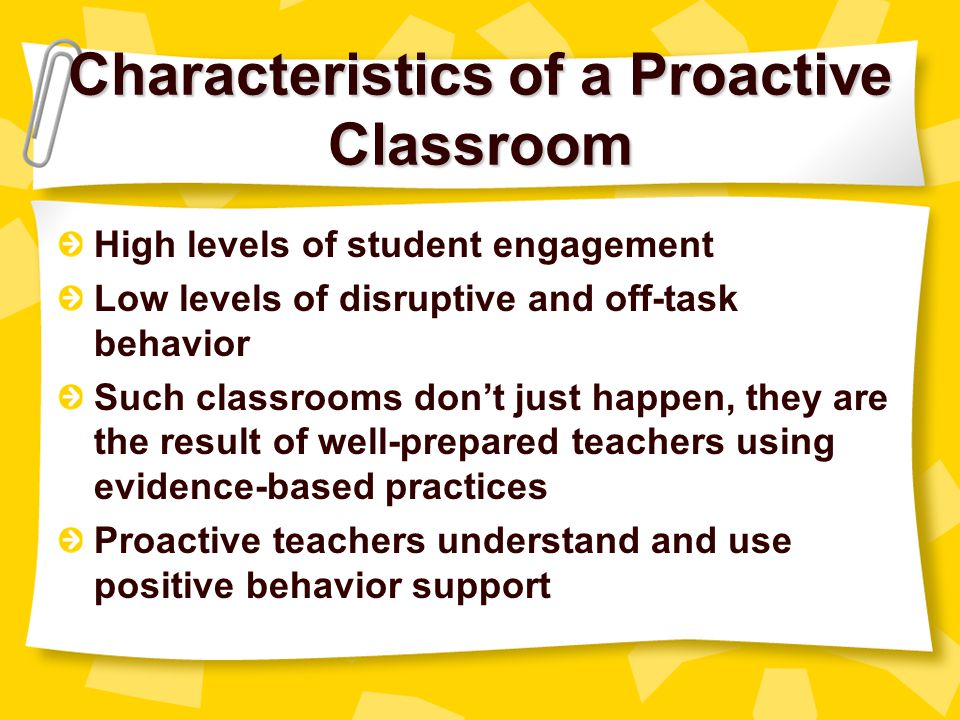 Classroom Experiences of Yellow & Red Zone Students Classrooms are too often characterized by teacher behaviors that exacerbate student misbehavior –Boring & repetitive tasks –Excessive amounts of downtime –Negative student-teacher interactions
