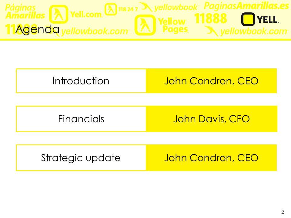 Financials John Davis CFO