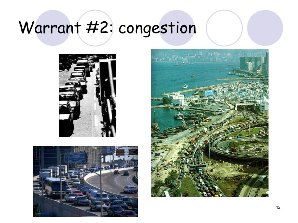 12 Warrant #2: congestion