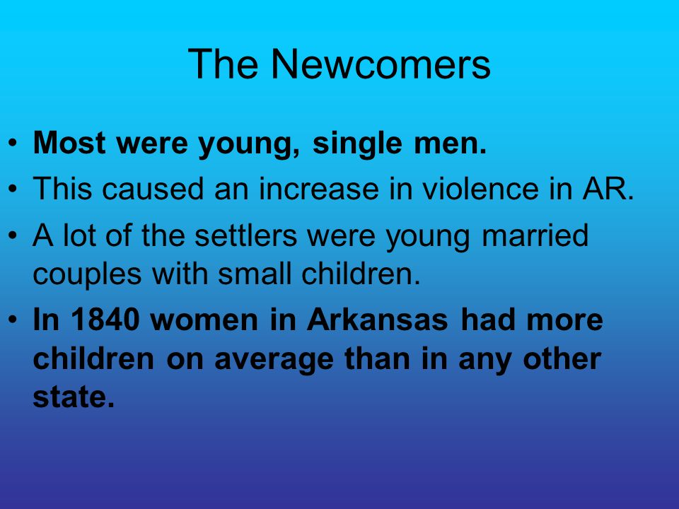 Boom Times The 1850s were boom years in Arkansas.