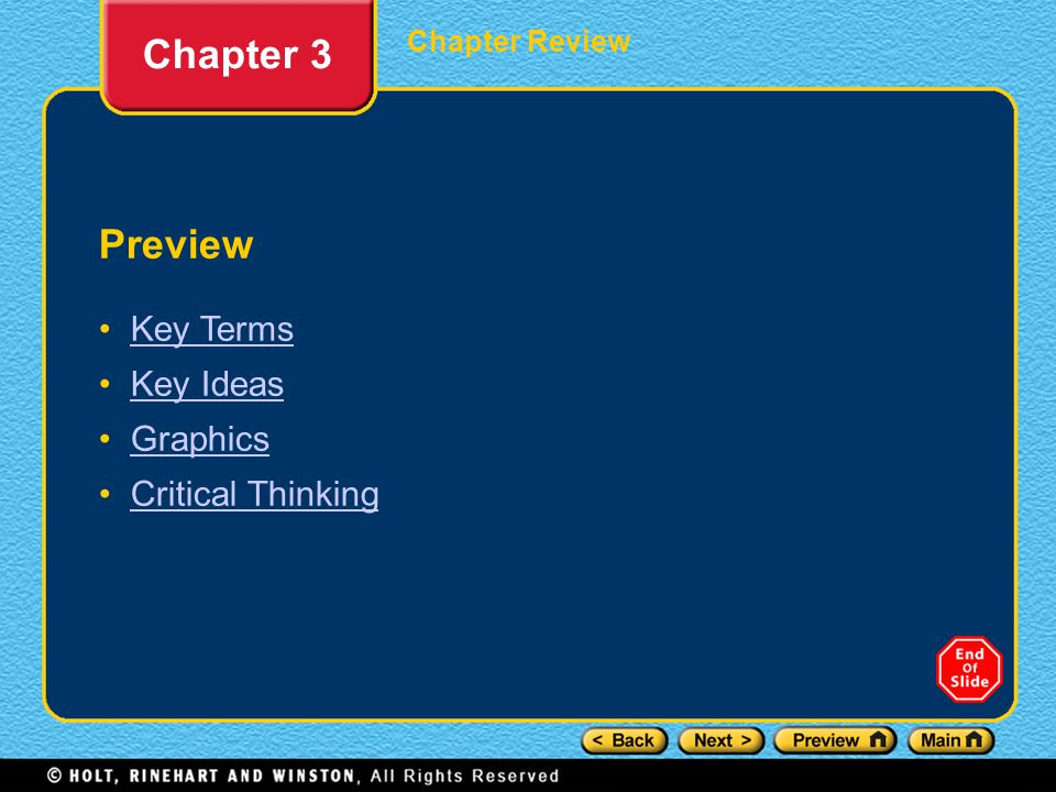 Chapter Review Chapter 3 Using Key Terms 1._______ is the ability to understand another person's feelings, behaviors, and attitudes.