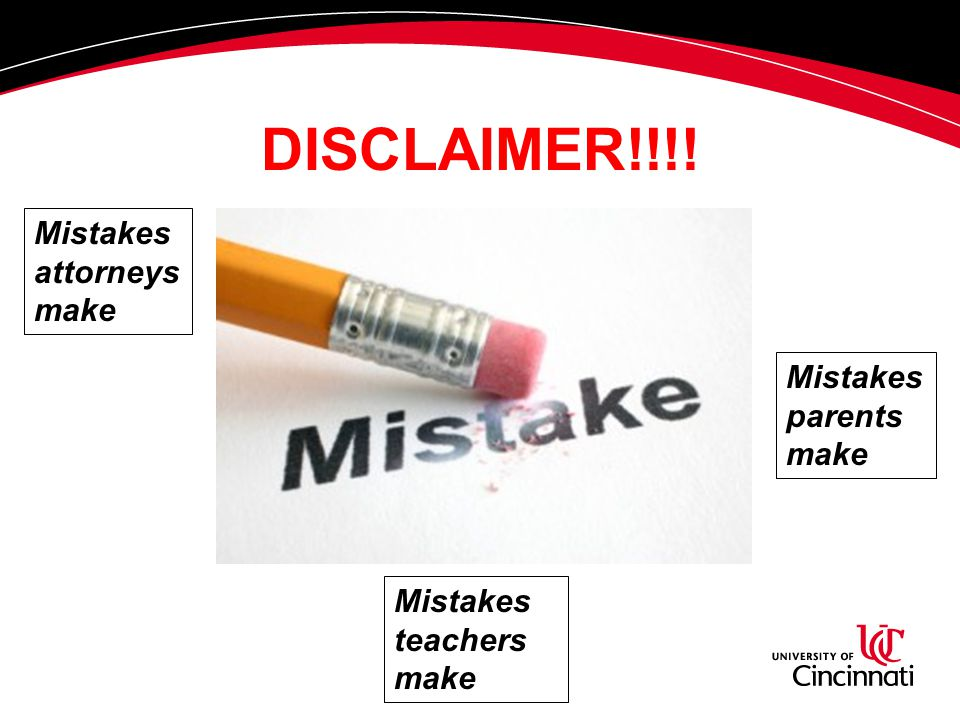 Overview of Presentation 1.Special Education Litigation 2.10 Mistakes 3.Q, A, & Discussion Today's presentation will only address public school law.