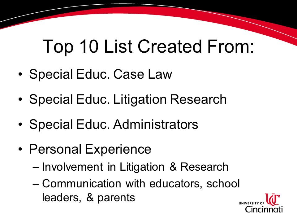 4. Educating themselves about special education law, but fail to adequately educate their staff