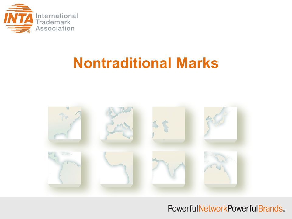 Nontraditional Marks